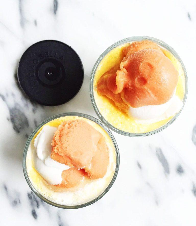 Boozy Creamsicle Floats
