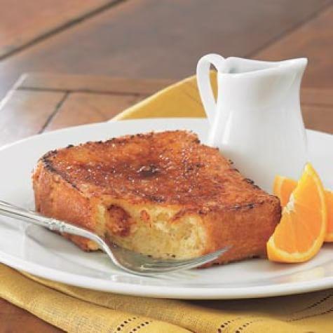 Bruleed Orange French Toast