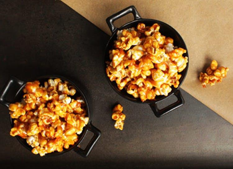 Moonshine Caramel Popcorn