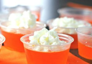 Orange Creamsicle Jello Shots