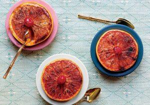 Rum Broiled Grapefruit