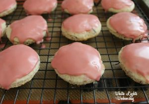 Champagne Hibiscus Cookies