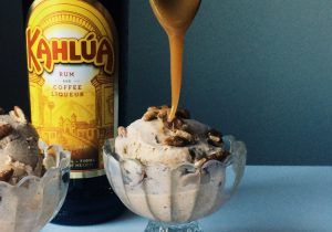 Boozy Pumpkin Spice Ice Cream