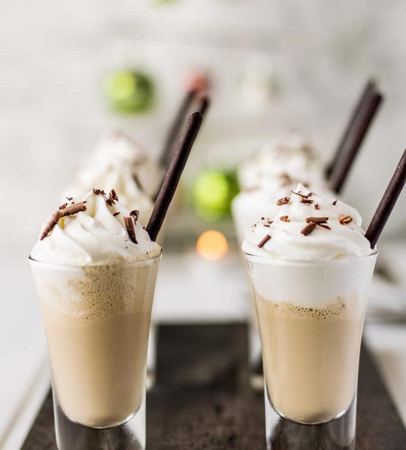Irish Coffee Milkshake Shooters