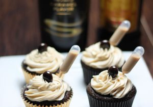 alcohol cupcakes