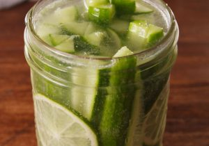 Gin and Tonic Pickles