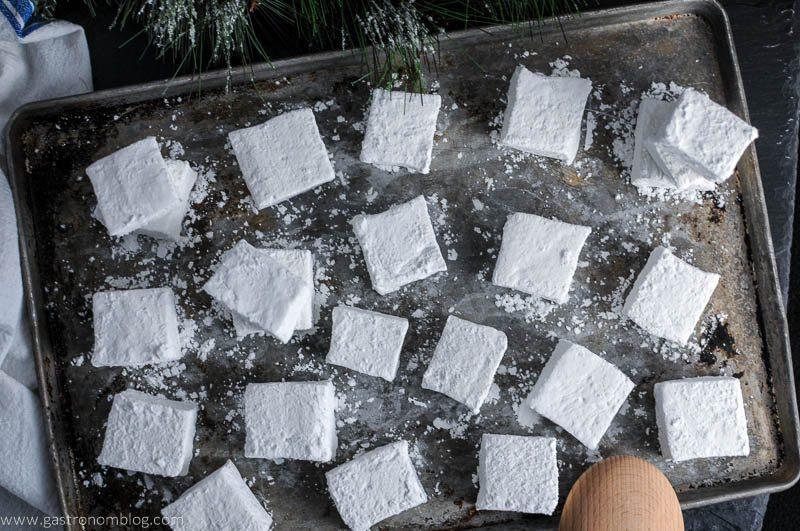 Peppermint Mocha Boozy Marshmallows