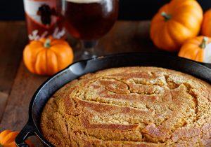 Pumpkin Beer Cornbread