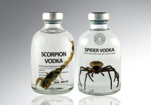 Spider Infused Vodka