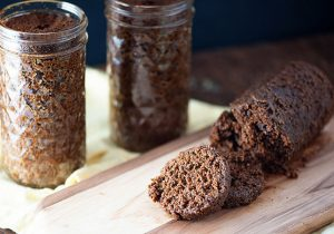 Boozy Boston Brown Bread