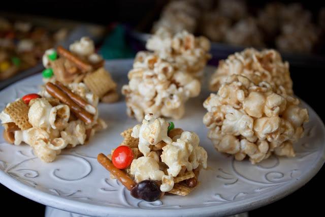 Boozy Marshmallow Popcorn Balls